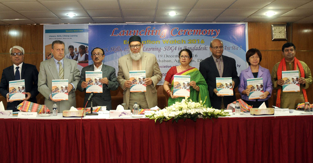 Launching Ceremony of Education Watch Report 2016